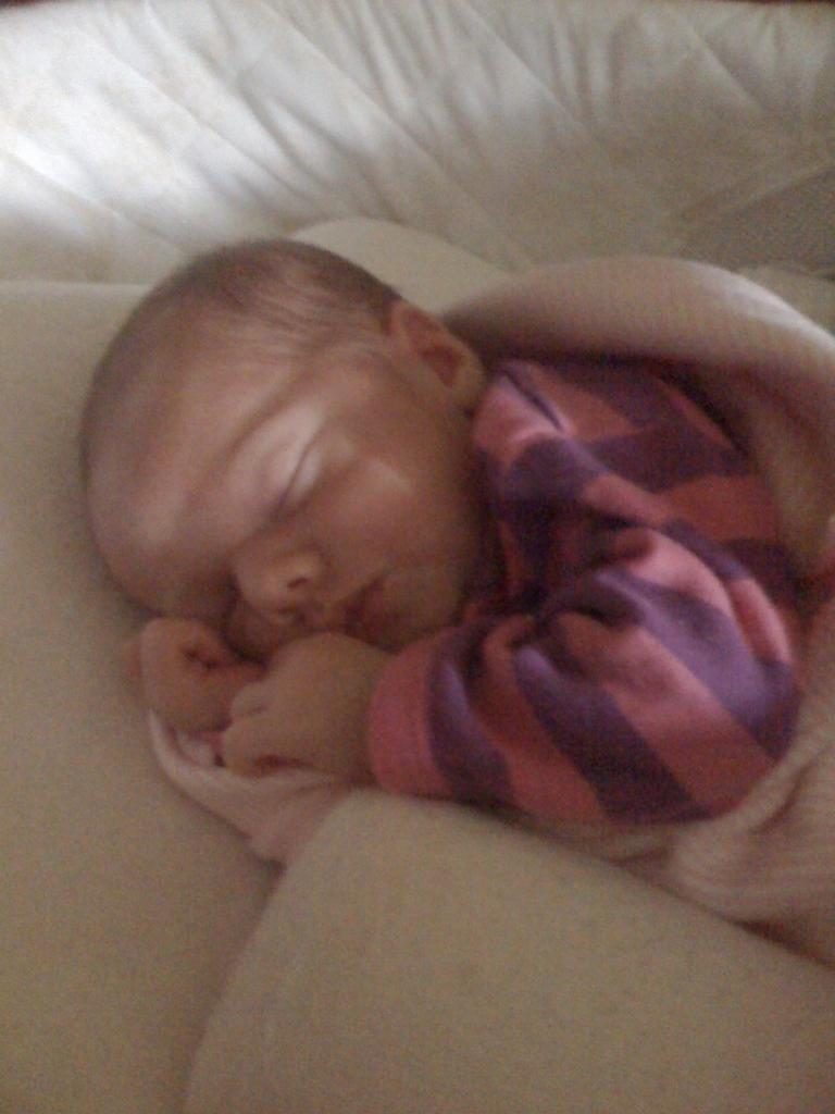 Daddy's Sleeping Beauty